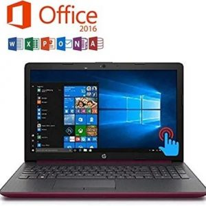 Microsoft Office 2016 Installed, HP Touch-Screen English PC,英語版ノートPC, Intel Core