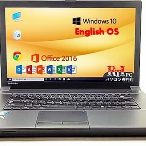 Microsoft Office, 【Windows 10 Pro】 Toshiba B554/K, Intel Core i5-4th generation