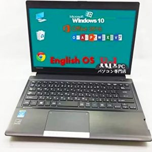 Used Eng laptop MS Office Dynabook R734/K-i74128E Core i7-4th 4GB SSD128GB Wifi